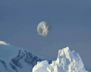 foto de nibiru desde la antártida