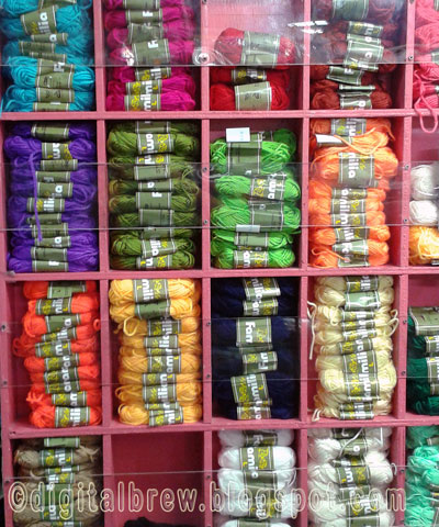 Crocheting Yarn Shop : Textile, Clothing and Accessories Shop: VC Trading at Farmers Plaza ...