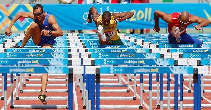 Atletismo 110m vallas atletismo 110m vallas - Imagen de vallas ...