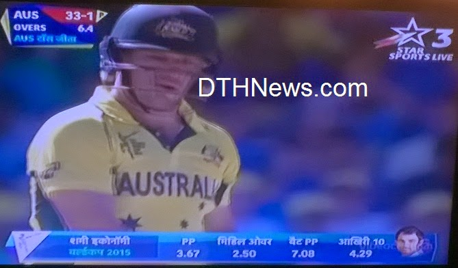 Watch Live ICC Cricket World Cup 2015 on Star Sport3 /Star Sports HD3 Channel in Hindi language