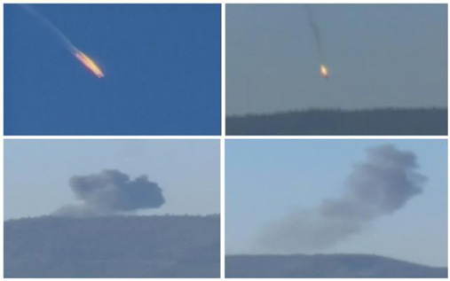 Russian Warplane Shot down by turkey