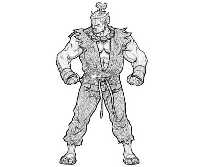 printable-marvel-vs-capcom-akuma-abilities_coloring-pages