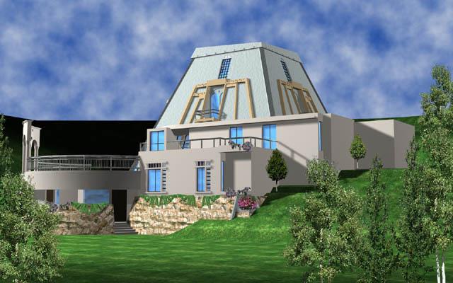 Gurooji design villa in lebanon architecture design - Libanese villa ...
