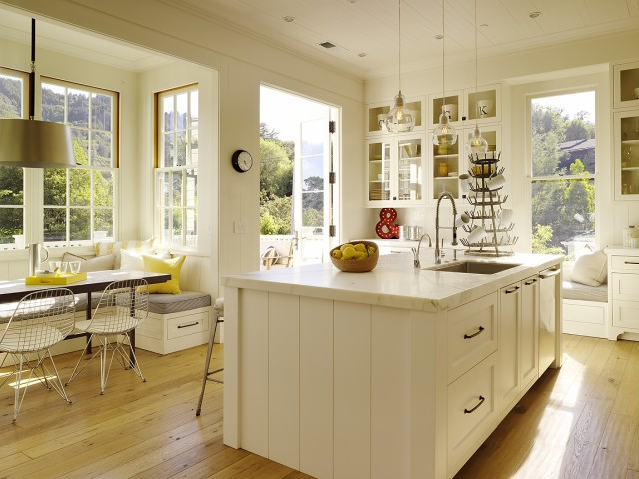Newest Kitchen Backsplashes With White Antique Cabinetskitchens photo - 7
