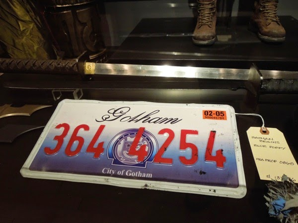 Batman Begins Gotham license plate prop