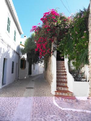 Ibiza Old Town houses