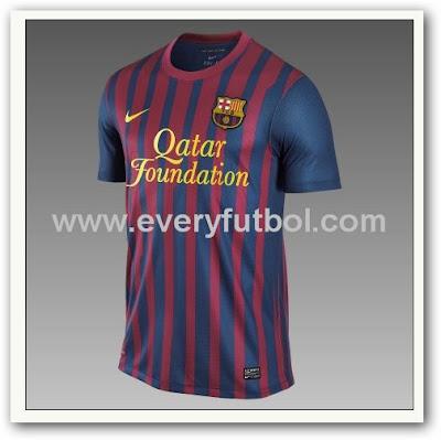 La Nueva Camiseta del Barcelona 2011
