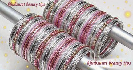 Silver bangles for brides 2014