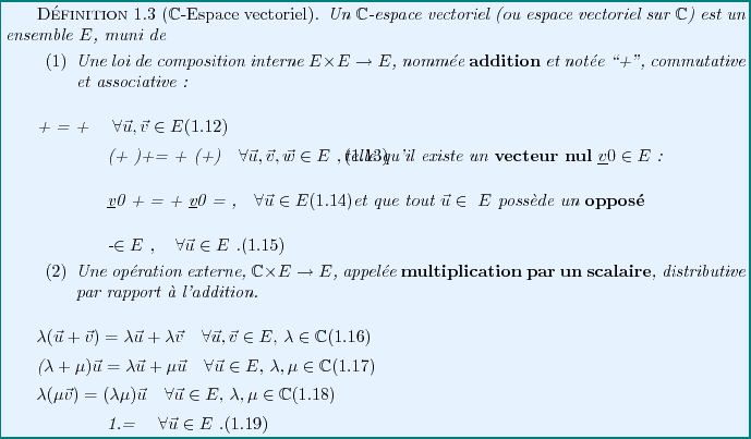 Exercices TD  avec corrigé Algèbre 2 smpc s2