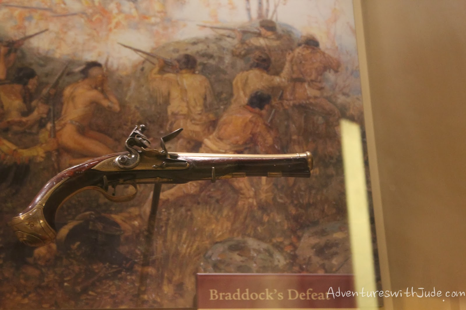 General Braddock's pistol, given to George Washington