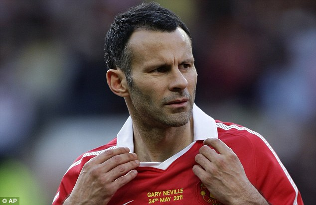 ryan giggs dresses. Though Giggs got a warm