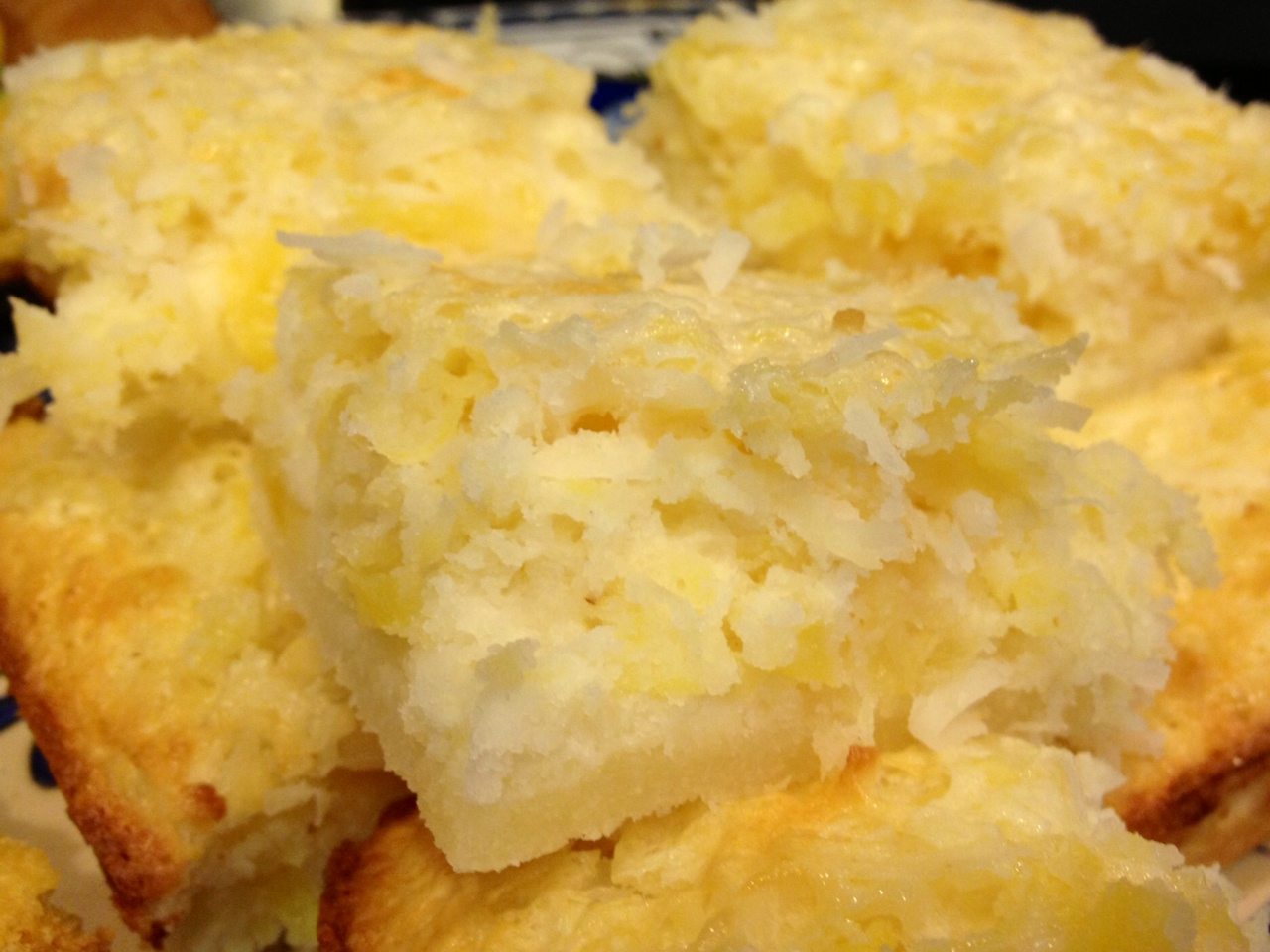 Pineapple Grass: Pineapple-Coconut Angel Food Cake