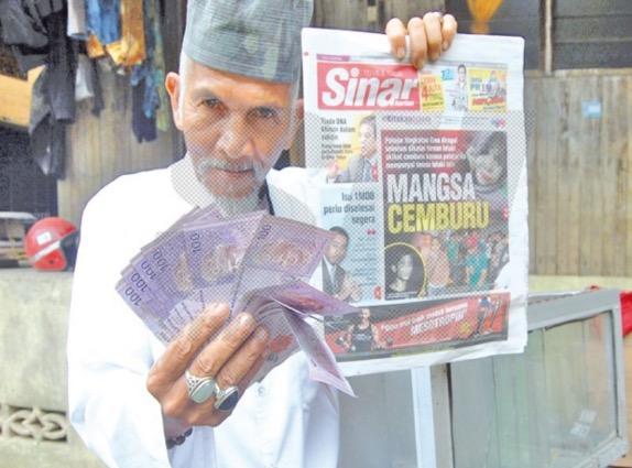 Penjaja Sate Ikan Menang RM1000 Dari Peraduan Rakyat 1Malaysia (PR1M)