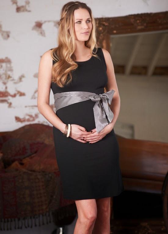 Fabulosos vestidos de noche para embarazadas