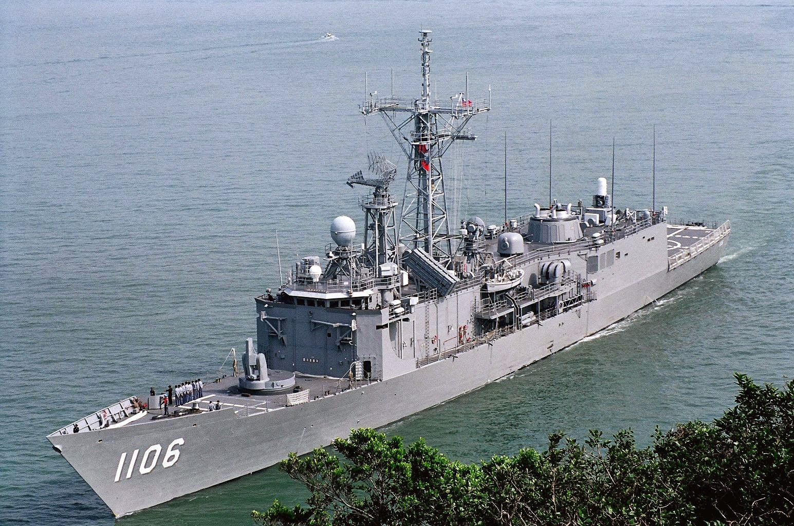 Republic of China (Taiwan) Navy Cheng Kung -class frigate, Taiwanese