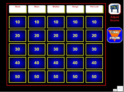 free online jeopardy games for teachers