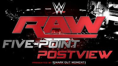 raw recap, wwe 5-point preview, wwe monday night raw