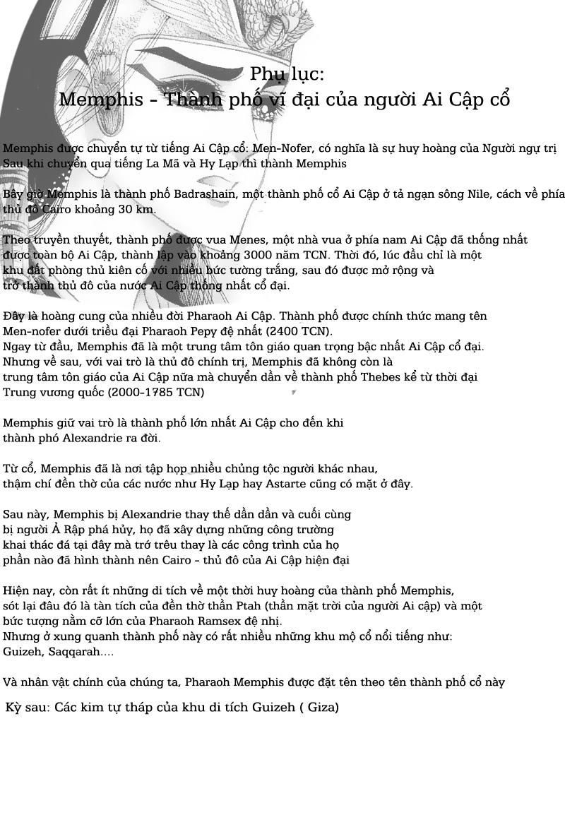 Nữ Hoàng Ai Cập-Ouke no Monshou chap 50 Trang 39 - Mangak.info