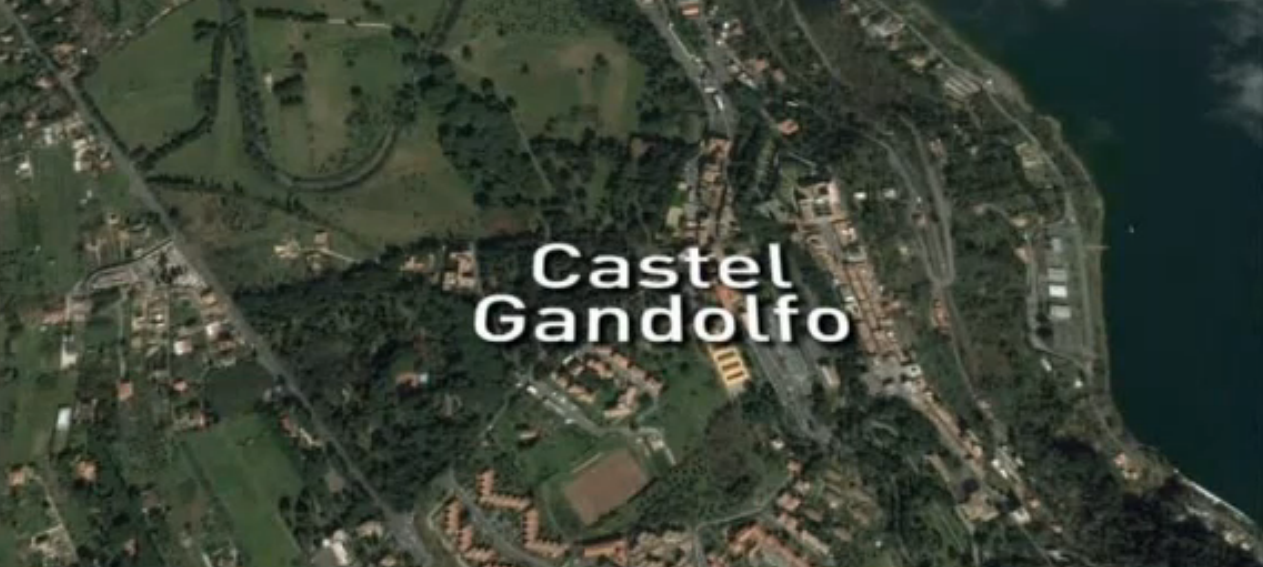 Pope taken to Castel Gandolfo