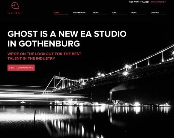 Ghost Games big image website