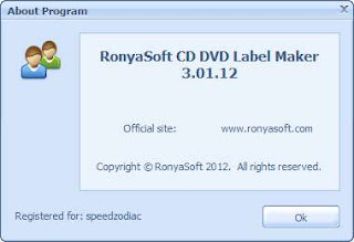 RonyaSoft CD DVD Label Maker 3.01.12 Portable