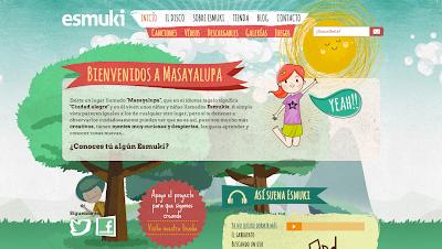 Web Esmuki, un mundo creado para los niños :) en Directoriopax