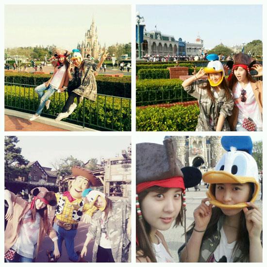 Girls Generation Seohyun Yuri Tokyo Disneyland