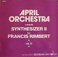 Francis Rimbert - April Orchestra Vol. 51 Présente Synthesizer II  (1983)