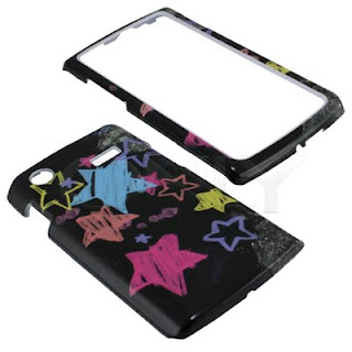 Samsung Captivate Chalkboard Star Black Cover