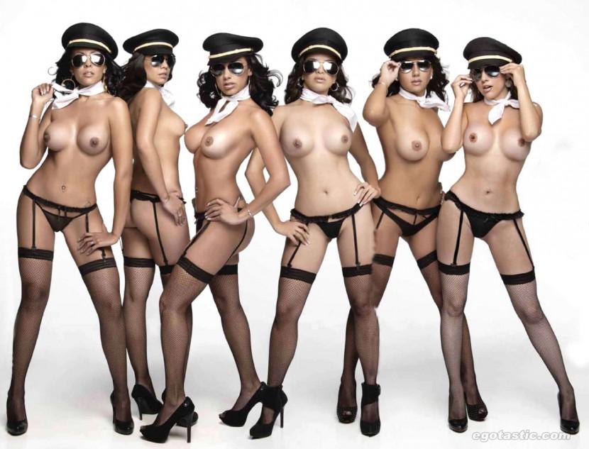stewardess Nude mexican flight attendant playboy