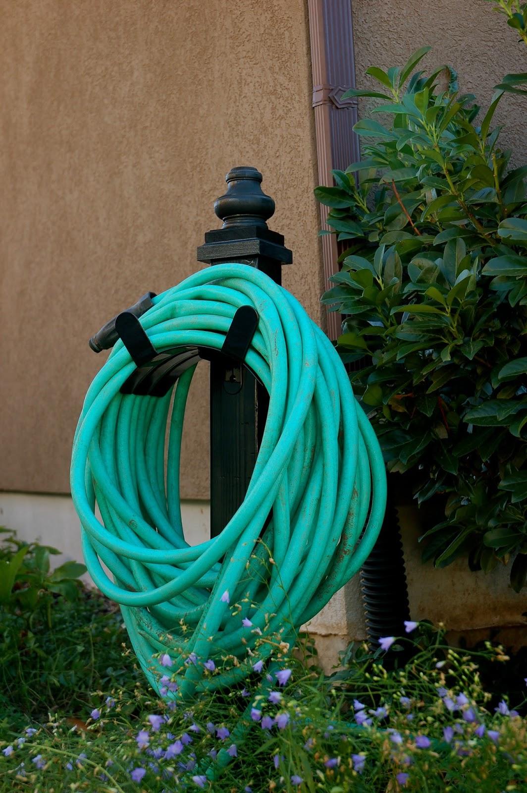 restlessrisa wooden hose holder