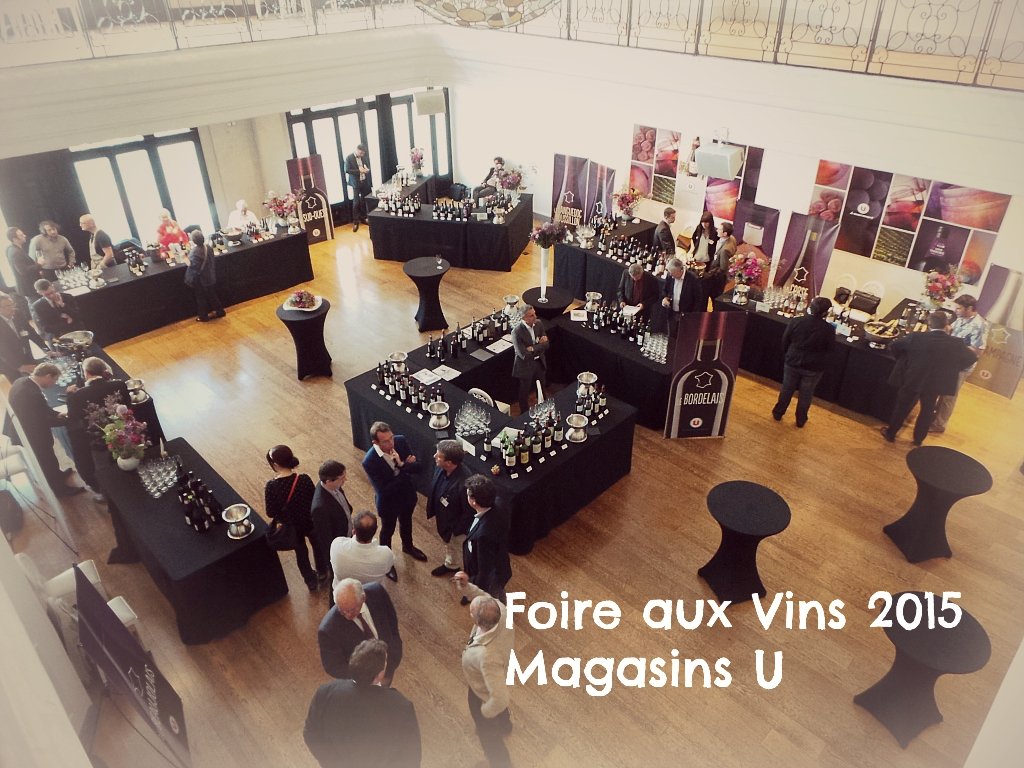 la foire aux vins 2015 des magasins u la parisienne du nord. Black Bedroom Furniture Sets. Home Design Ideas