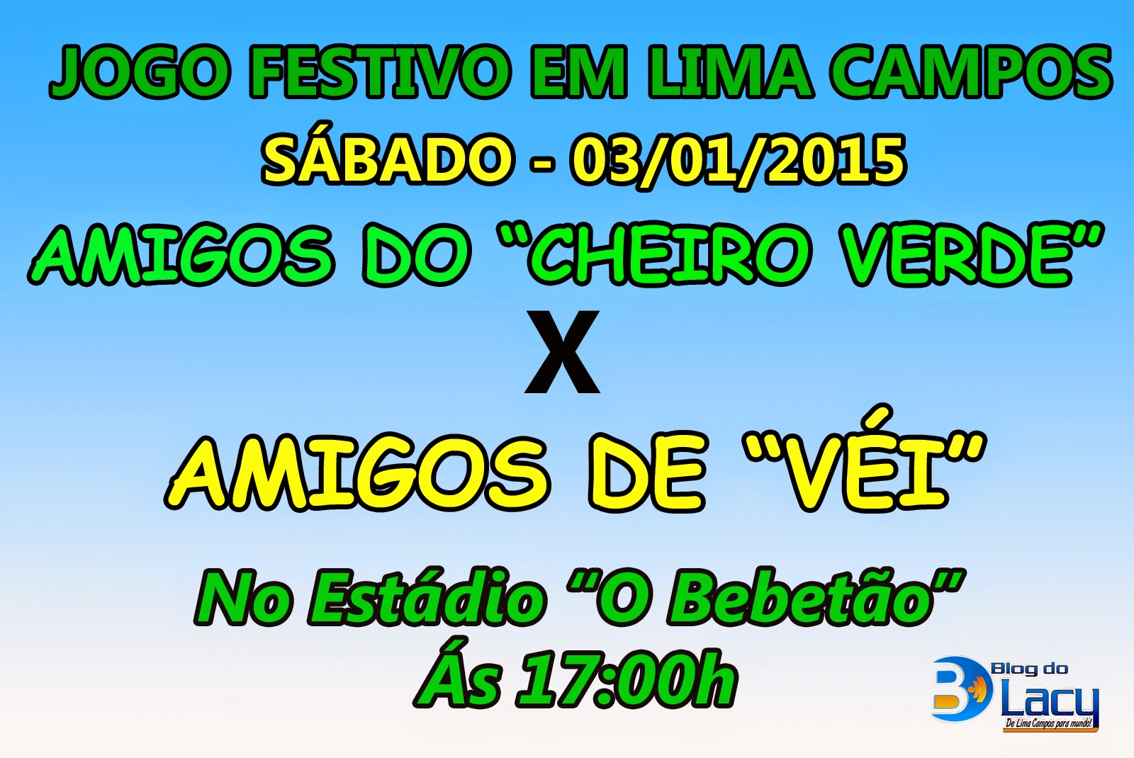 JOGO FESTIVO EM LIMA CAMPOS - CE