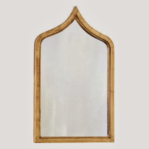 Gold lead mirror