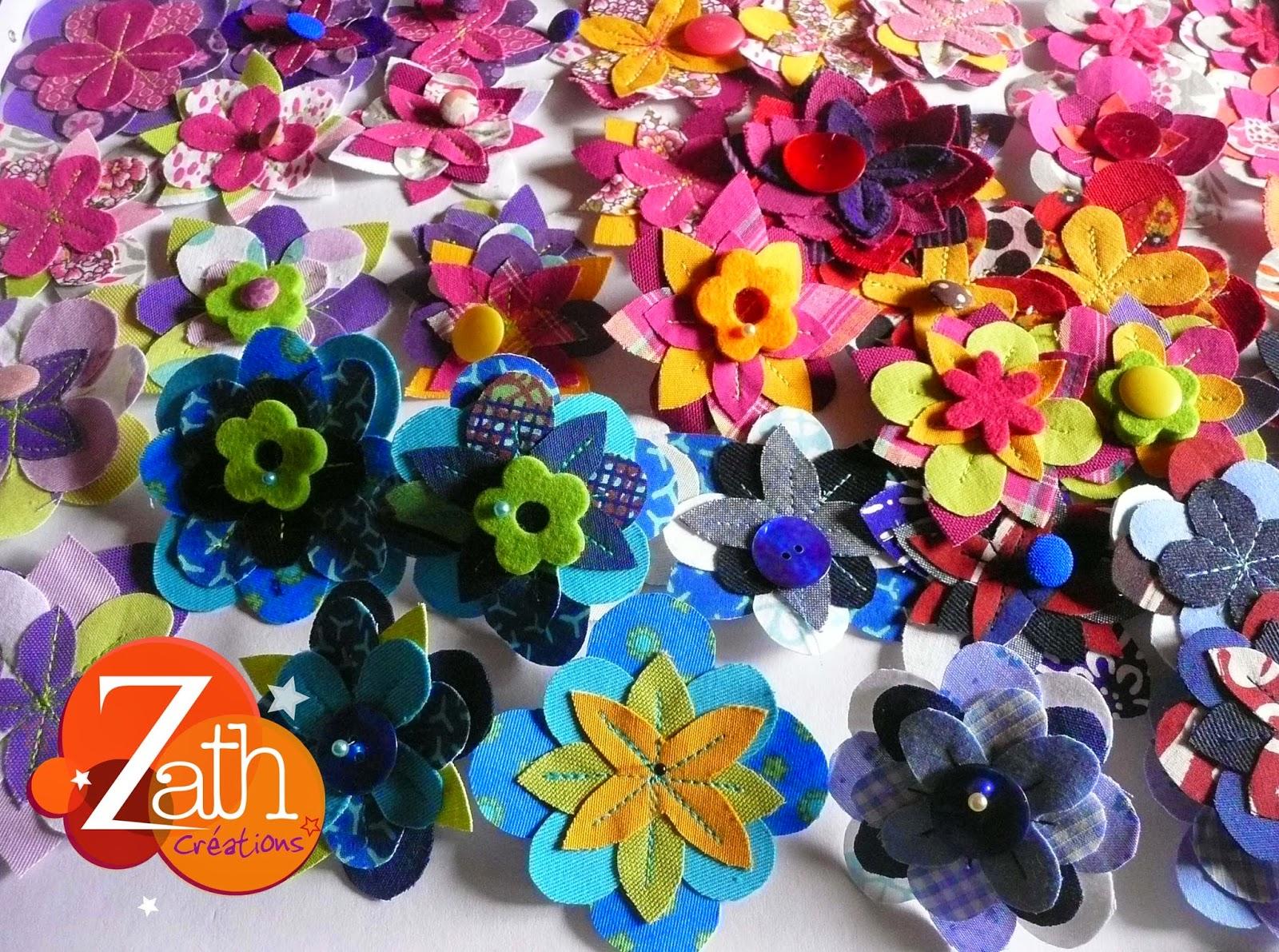 Fleurs Zath créations 2015