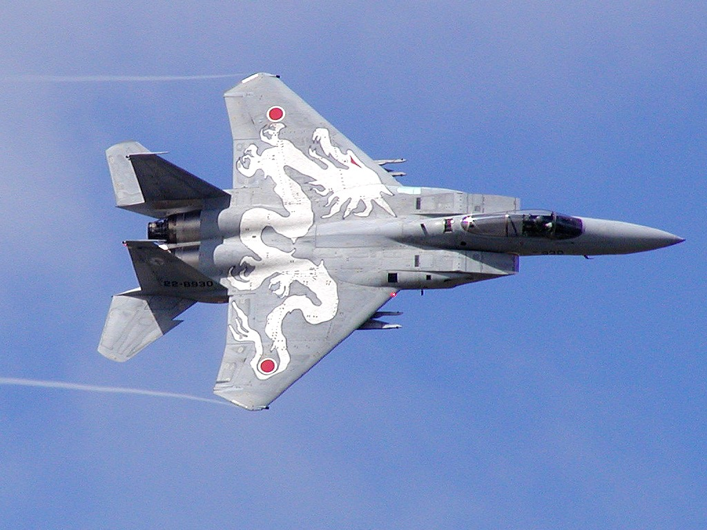 Asian Wallpapers: F-15 Aircraft Wallpapers
