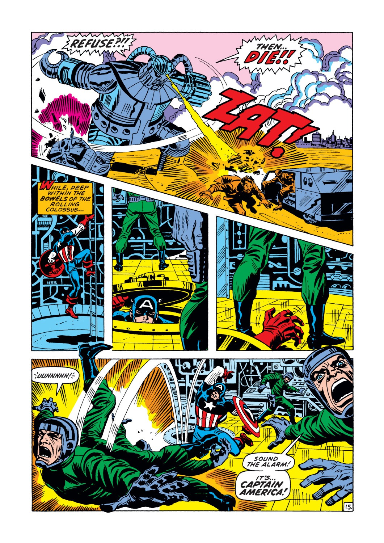 Captain America (1968) Issue #148 #62 - English 16