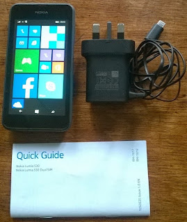 Nokia Lumia 530 with Accessories