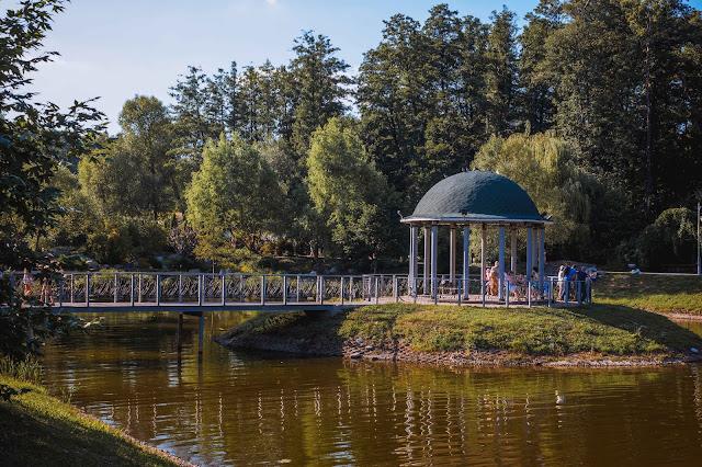 Парк Феофания в Киеве