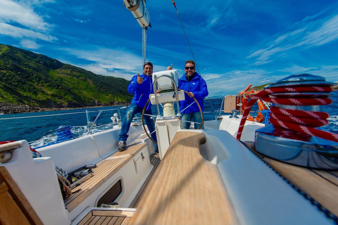 Navegando por el Pais Vasco 2016