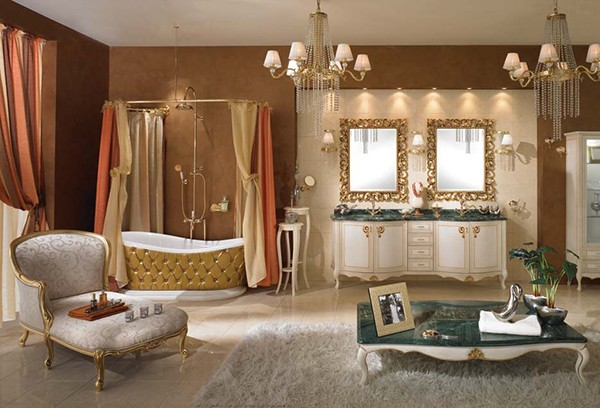 Baño Chocolate Blanco:Luxury Bathroom Design