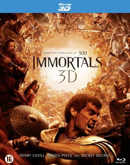 Immortals 3D (2011) BluRay 720p BRRip 800MB