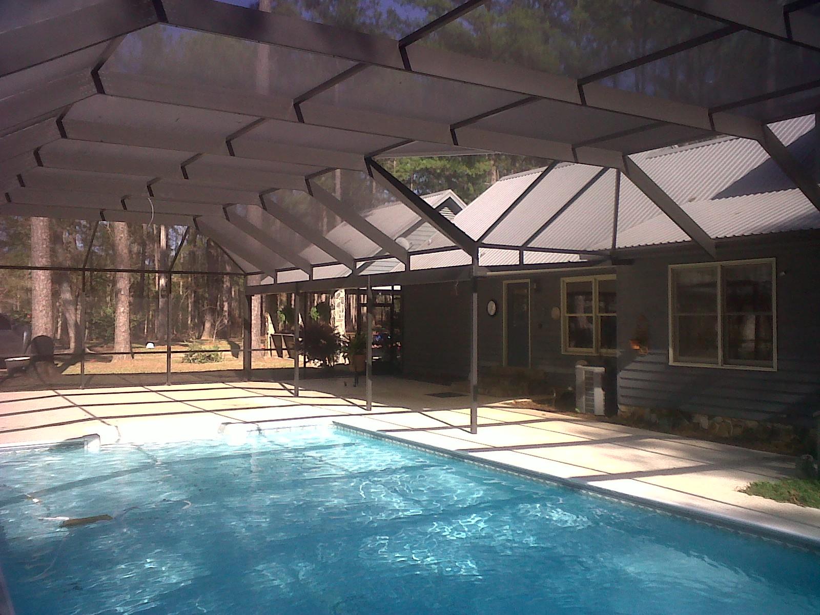 Pool enclosures usa bainbridge georgia pool enclosures for Pool enclosures prices