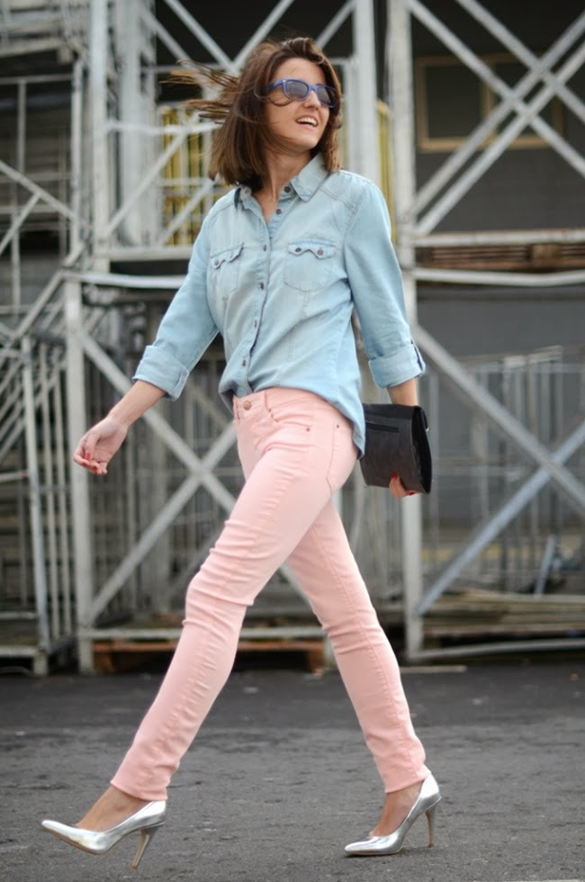 Pink Pastel Pants