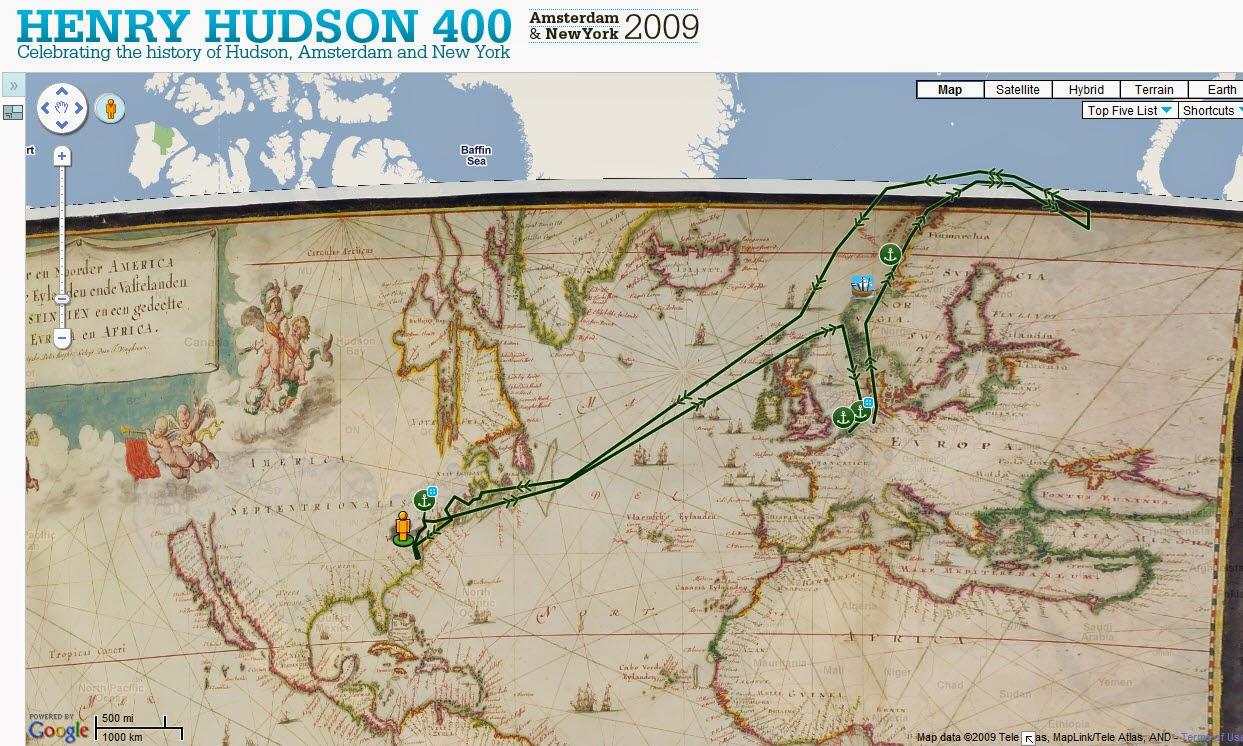 Henry Hudson 400 website