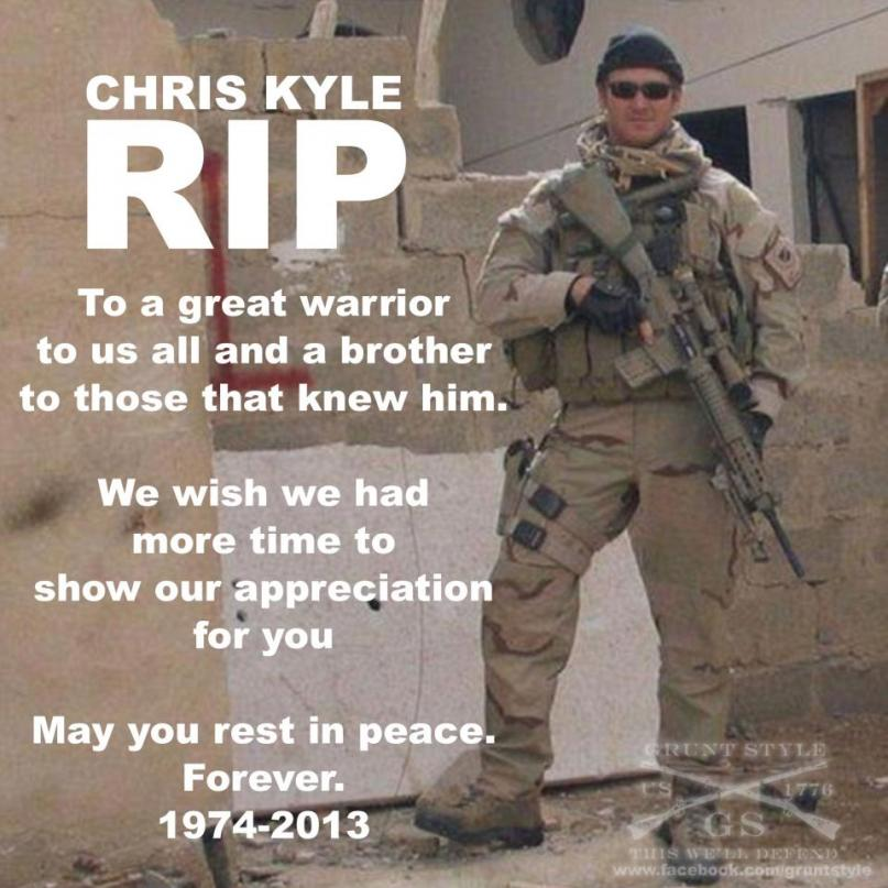 THE RIGHT PERSPECTIVE!: Chris Kyle - Navy Seal and