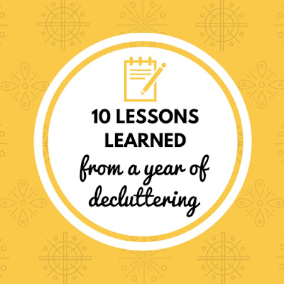 10 Lessons Learned from a Year of Decluttering, shared by Keeping it Real