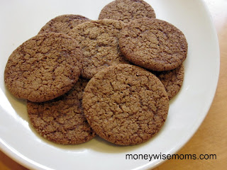 Ginger Snaps | Gluten-Free Baking for Fall | MoneywiseMoms