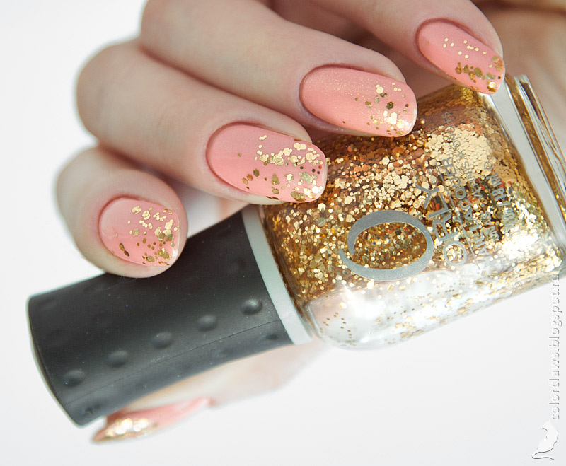 Avon Gel Finish Dazzle Pink + Orly Too Fab + Orly Sugar