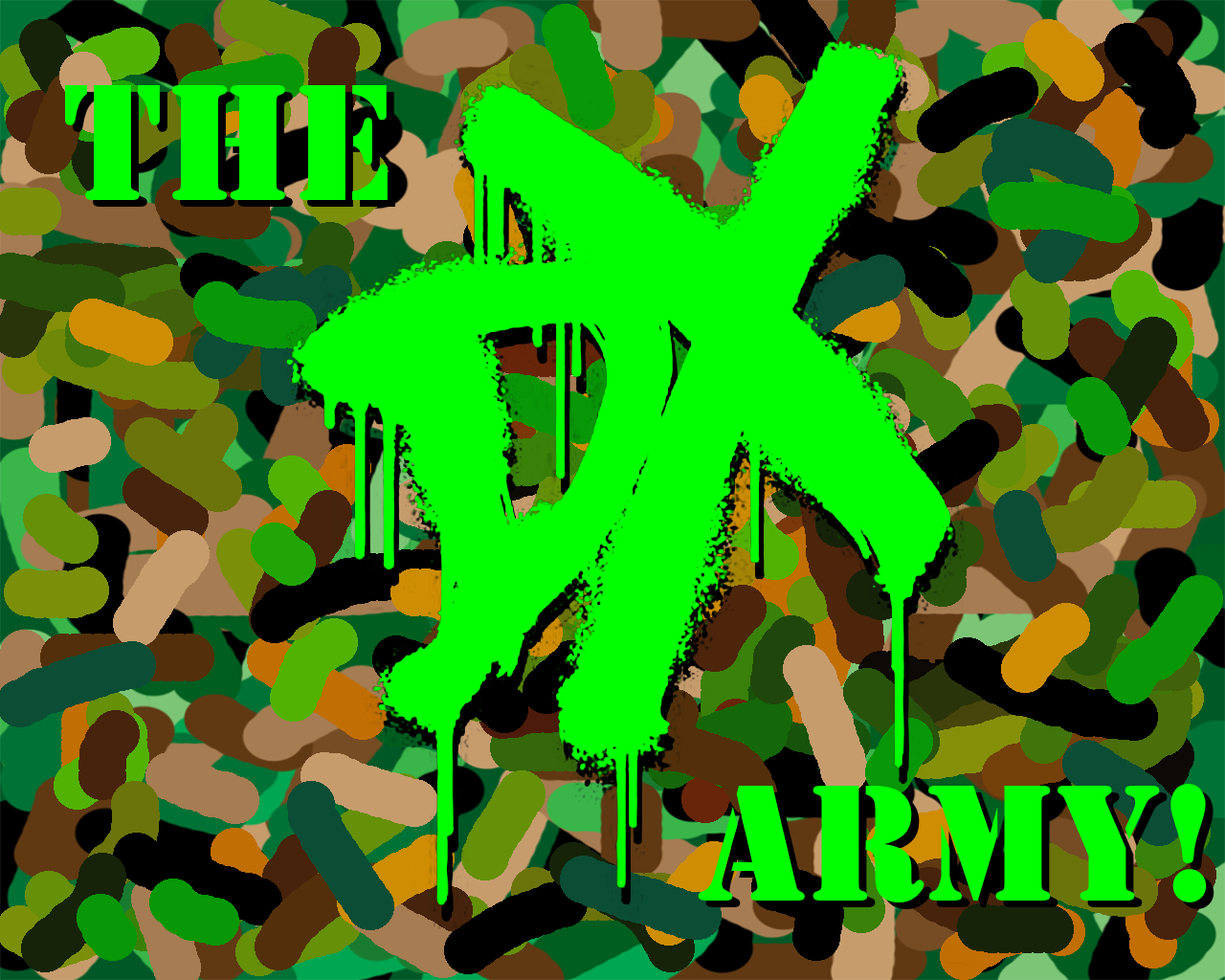 dx army wallpaperswrestle mania